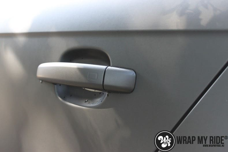 Audi A4 matte zwart, Carwrapping door Wrapmyride.nu Foto-nr:7913, ©2020
