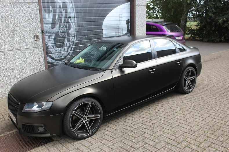 Audi A4 satin gold dust, Carwrapping door Wrapmyride.nu Foto-nr:11990, ©2019