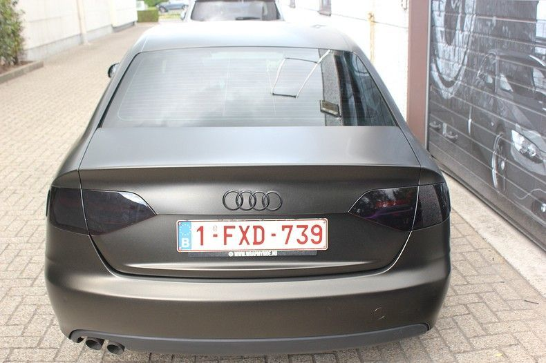 Audi A4 satin gold dust, Carwrapping door Wrapmyride.nu Foto-nr:11992, ©2020
