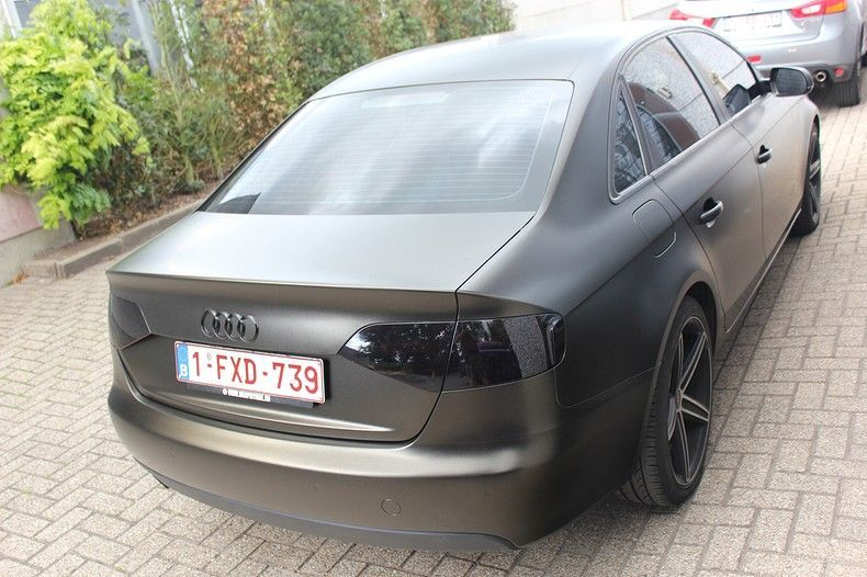 Audi A4 satin gold dust, Carwrapping door Wrapmyride.nu Foto-nr:11993, ©2021