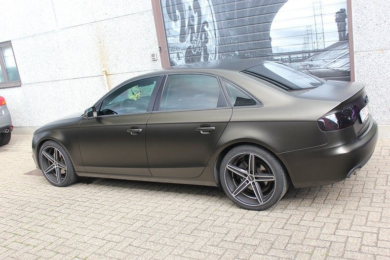 Audi A4 satin gold dust, Carwrapping door Wrapmyride.nu Foto-nr:11994, ©2021