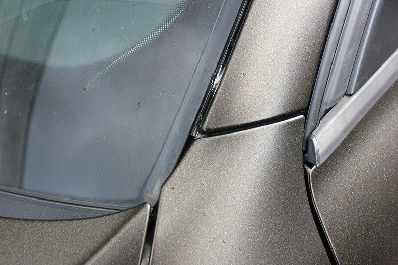 Audi A4 satin gold dust, Carwrapping door Wrapmyride.nu Foto-nr:11995, ©2021
