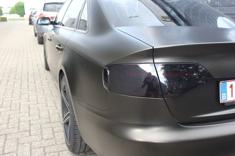 Audi A4 satin gold dust, Carwrapping door Wrapmyride.nu Foto-nr:11998, ©2021