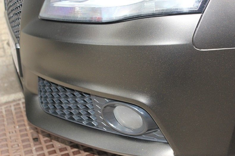 Audi A4 satin gold dust, Carwrapping door Wrapmyride.nu Foto-nr:12001, ©2021
