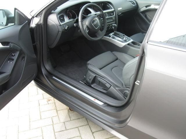 Audi A5 Coupe met Mat Zwarte Wrap, Carwrapping door Wrapmyride.nu Foto-nr:4546, ©2021