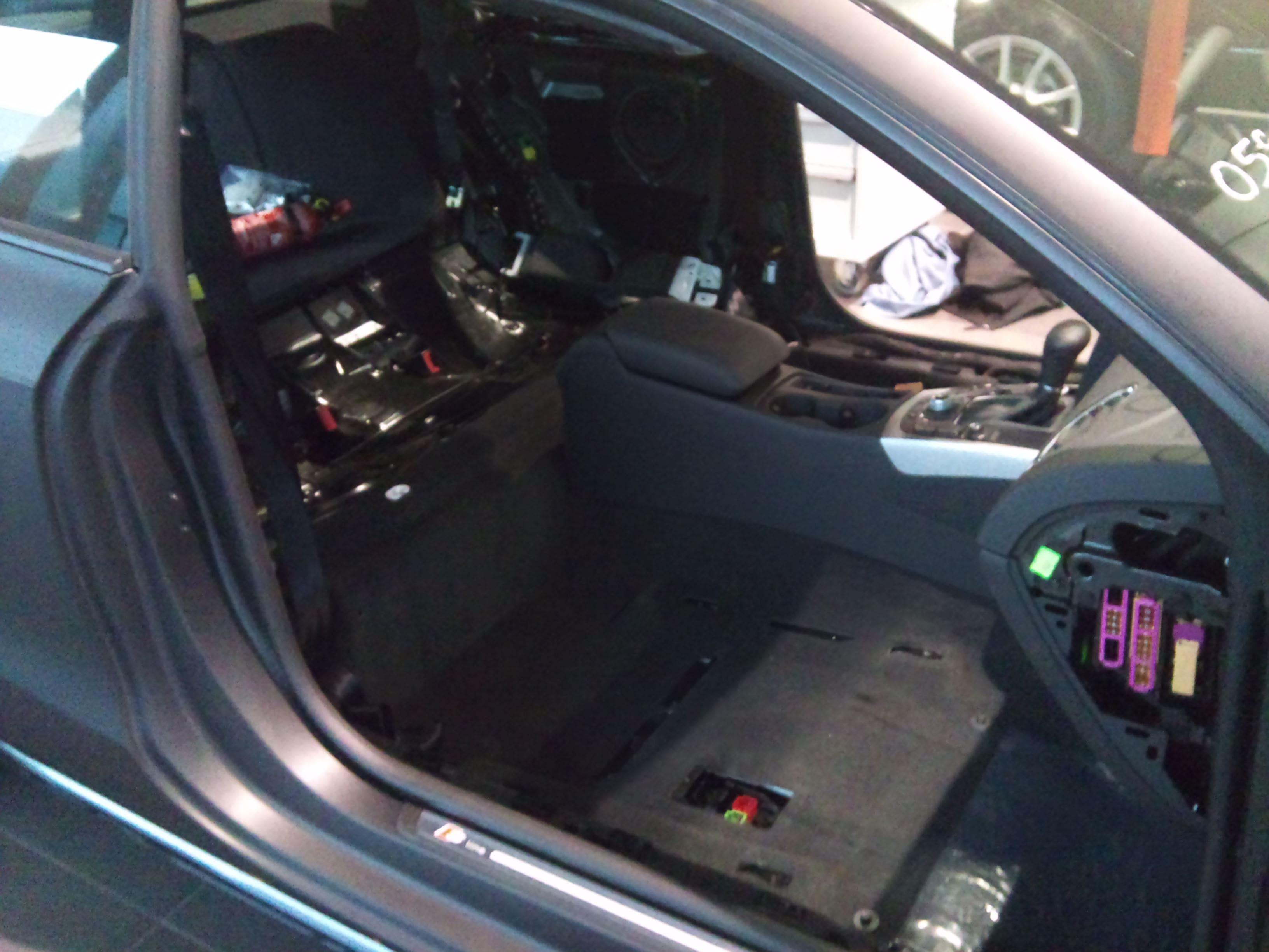 Audi A5 Coupe met Mat Zwarte Wrap, Carwrapping door Wrapmyride.nu Foto-nr:4552, ©2021