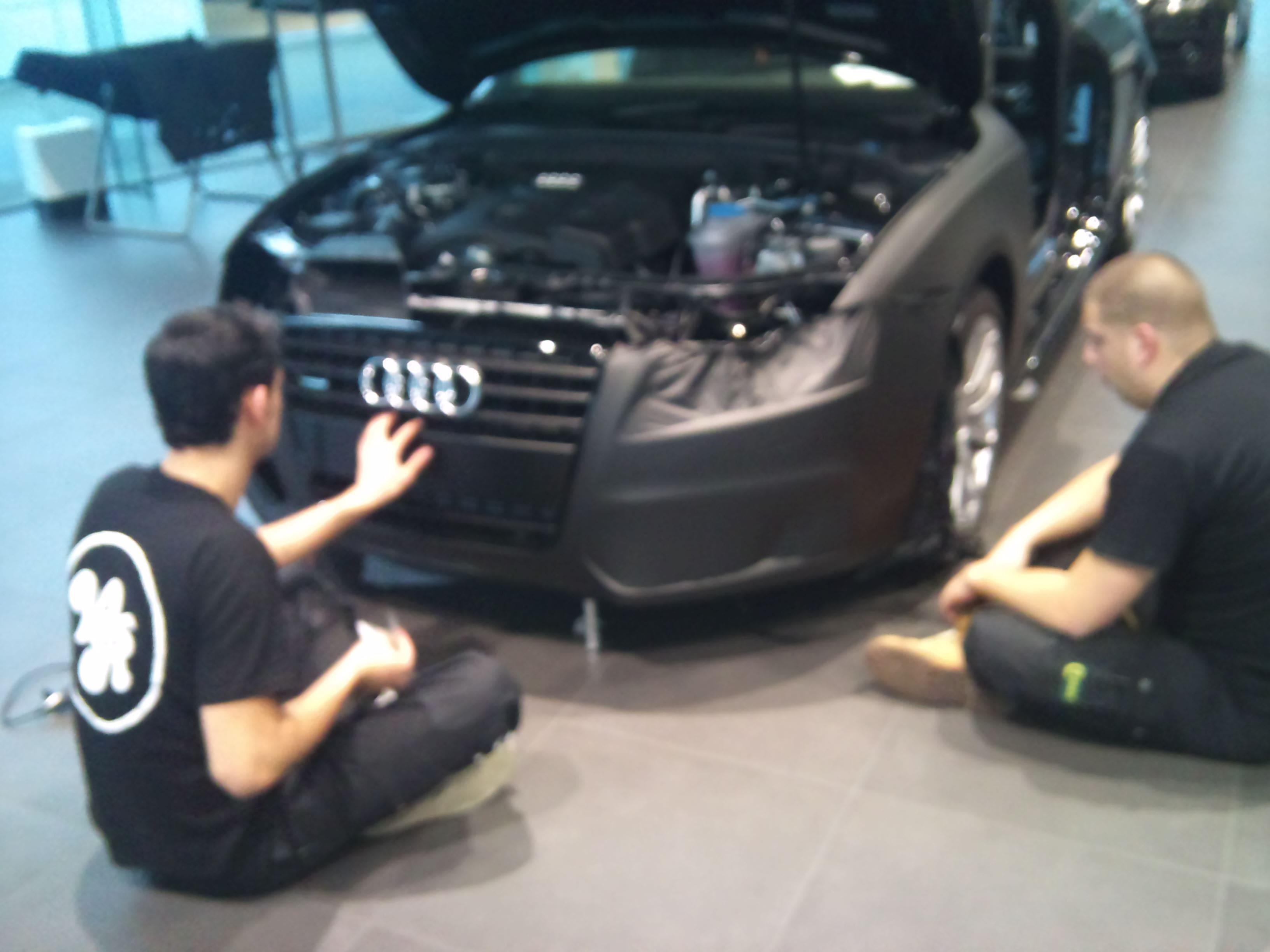 Audi A5 Coupe met Mat Zwarte Wrap, Carwrapping door Wrapmyride.nu Foto-nr:4554, ©2021
