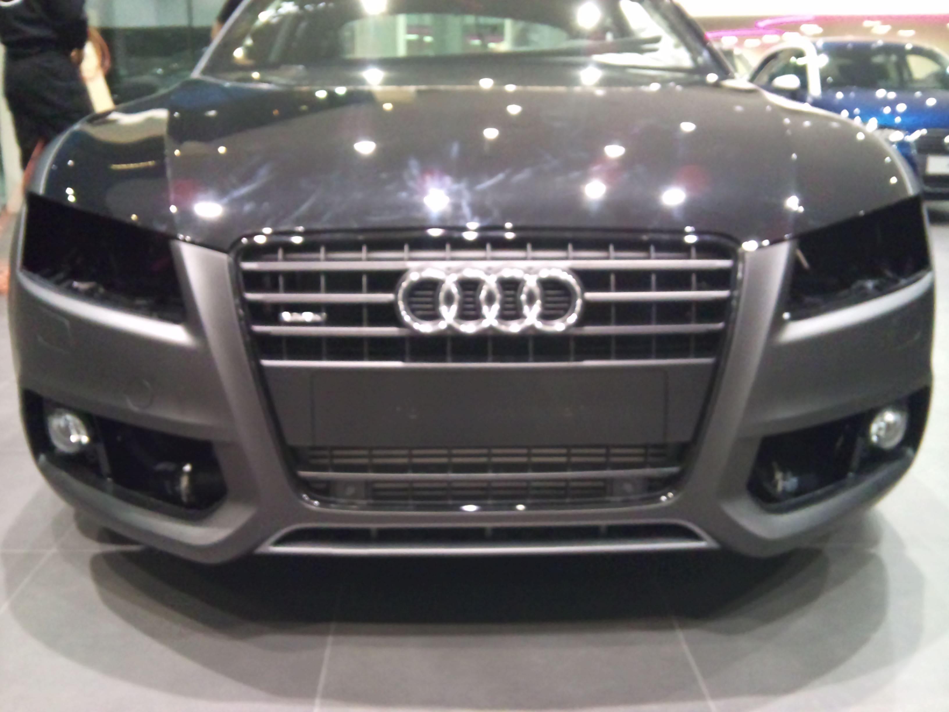 Audi A5 Coupe met Mat Zwarte Wrap, Carwrapping door Wrapmyride.nu Foto-nr:4556, ©2021