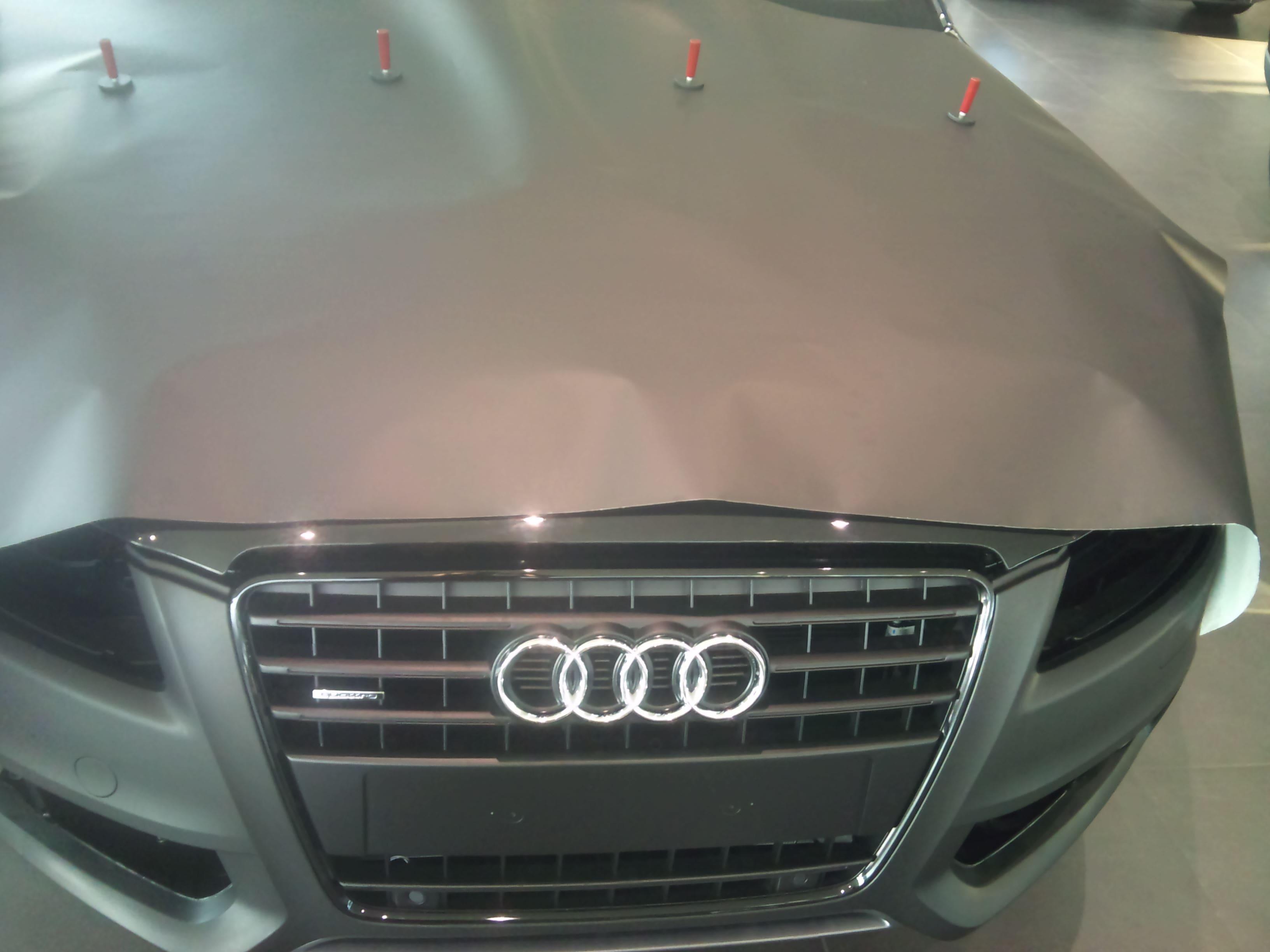 Audi A5 Coupe met Mat Zwarte Wrap, Carwrapping door Wrapmyride.nu Foto-nr:4558, ©2021