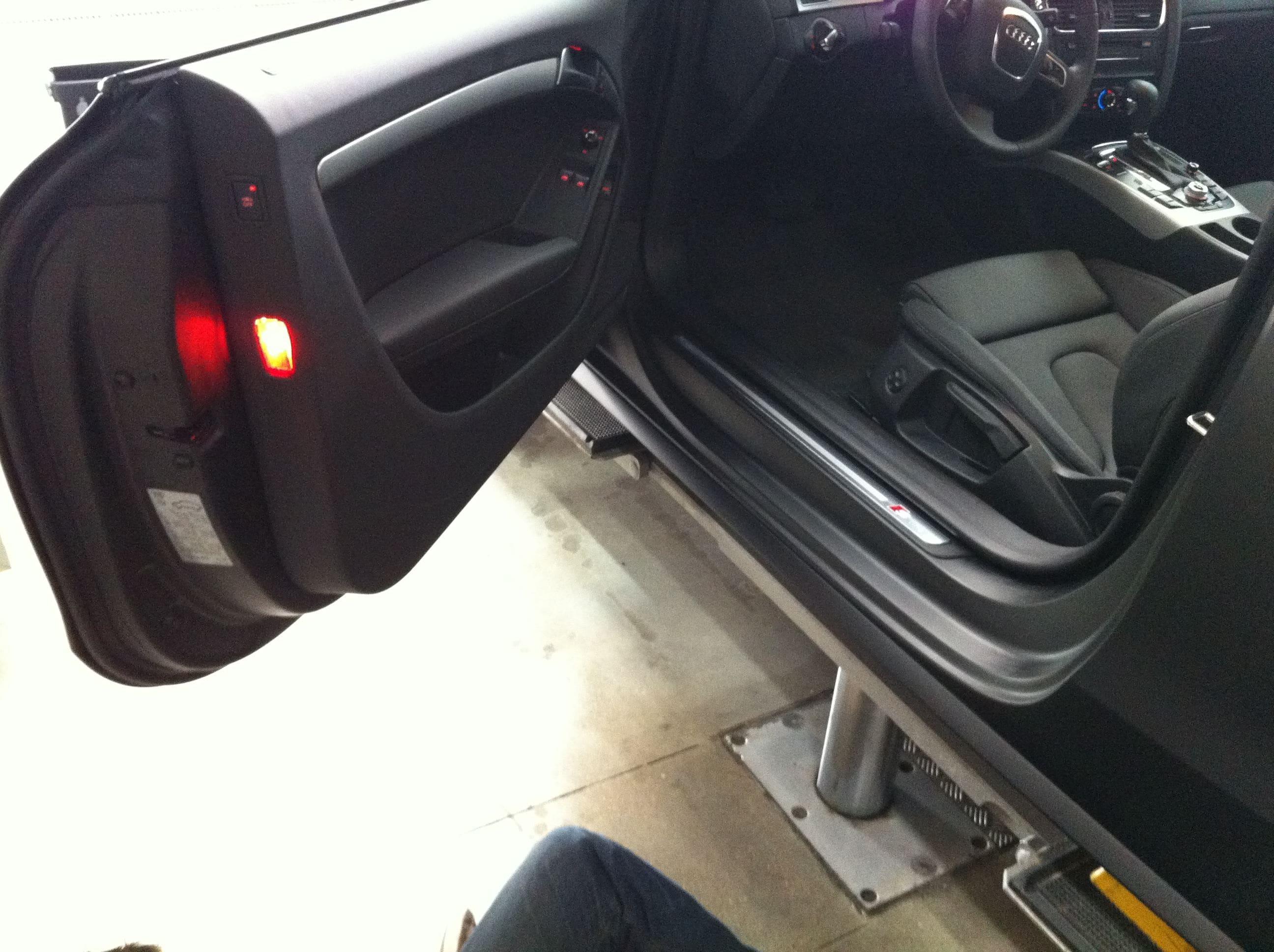 Audi A5 Coupe met Mat Zwarte Wrap, Carwrapping door Wrapmyride.nu Foto-nr:4592, ©2021