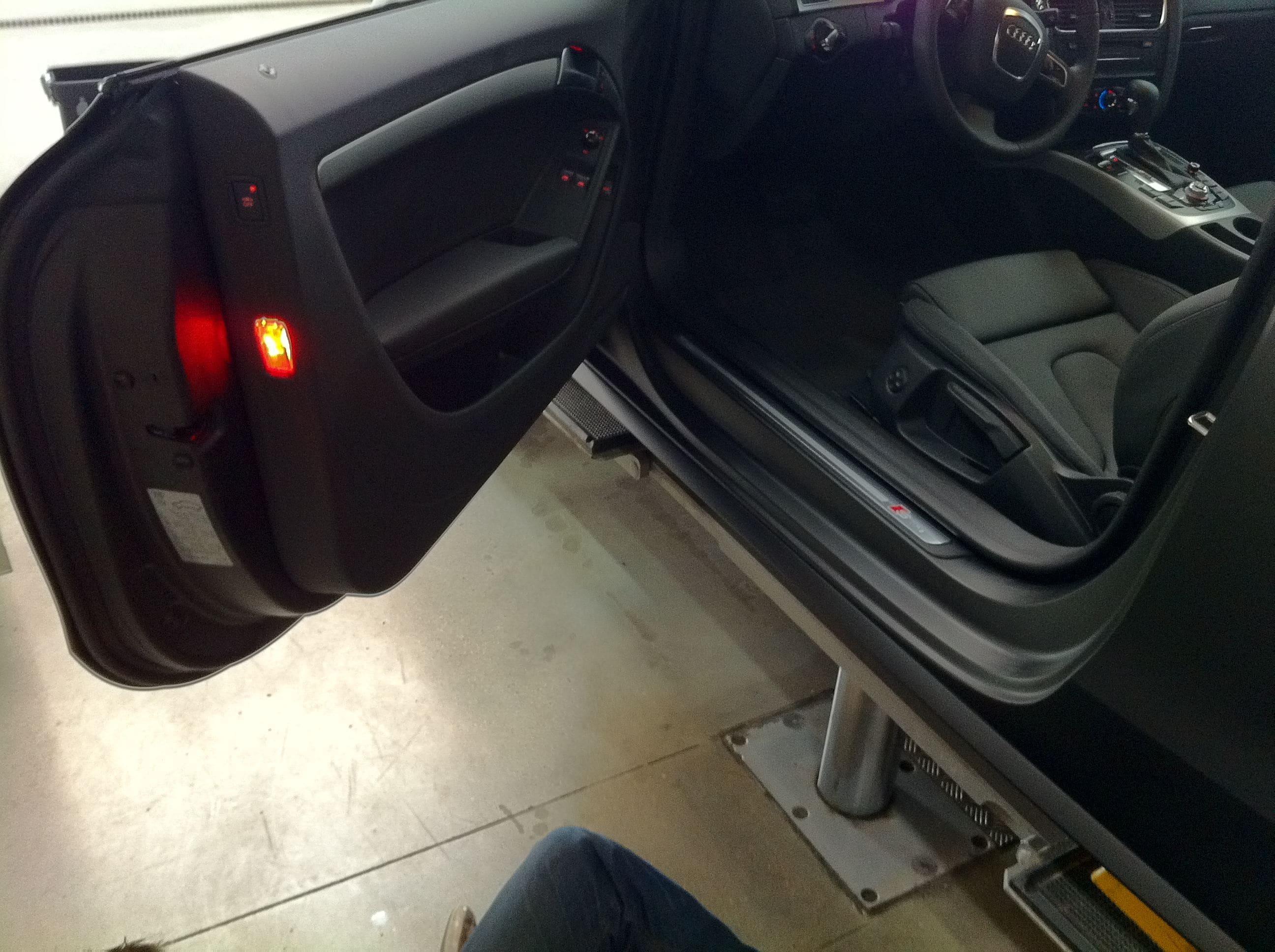 Audi A5 Coupe met Mat Zwarte Wrap, Carwrapping door Wrapmyride.nu Foto-nr:4593, ©2021