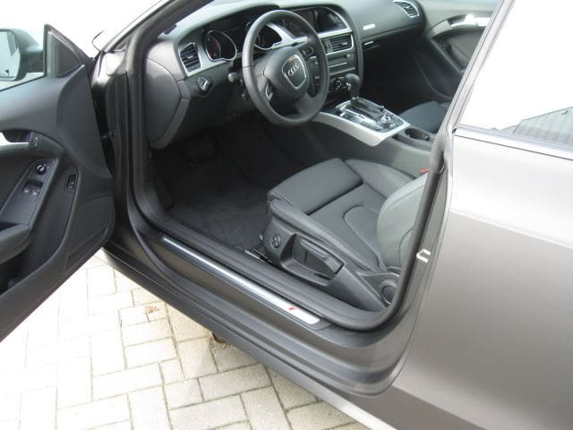 Audi A5 Coupe met Mat Zwarte Wrap, Carwrapping door Wrapmyride.nu Foto-nr:4607, ©2021