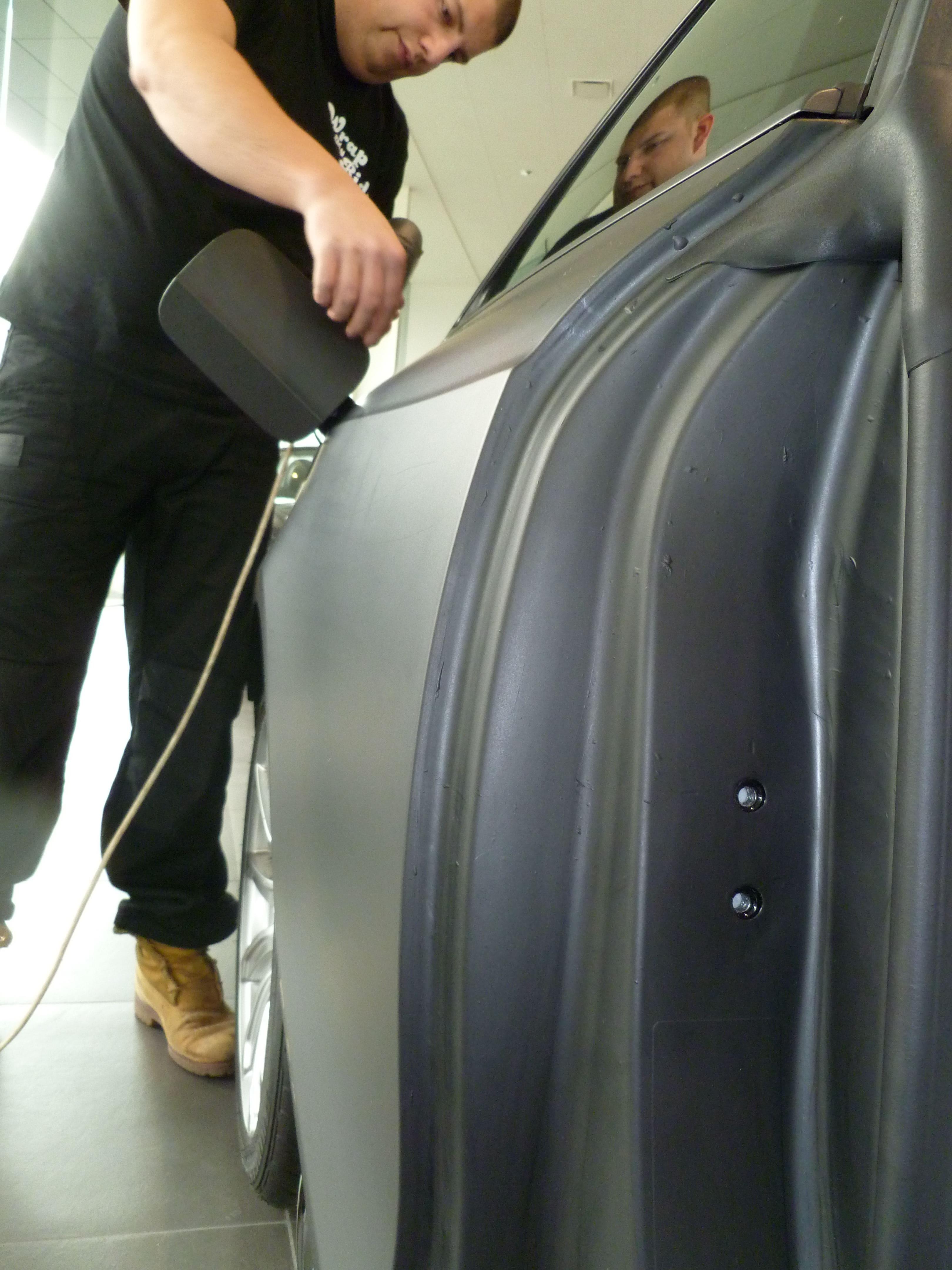 Audi A5 Coupe met Mat Zwarte Wrap, Carwrapping door Wrapmyride.nu Foto-nr:4621, ©2021
