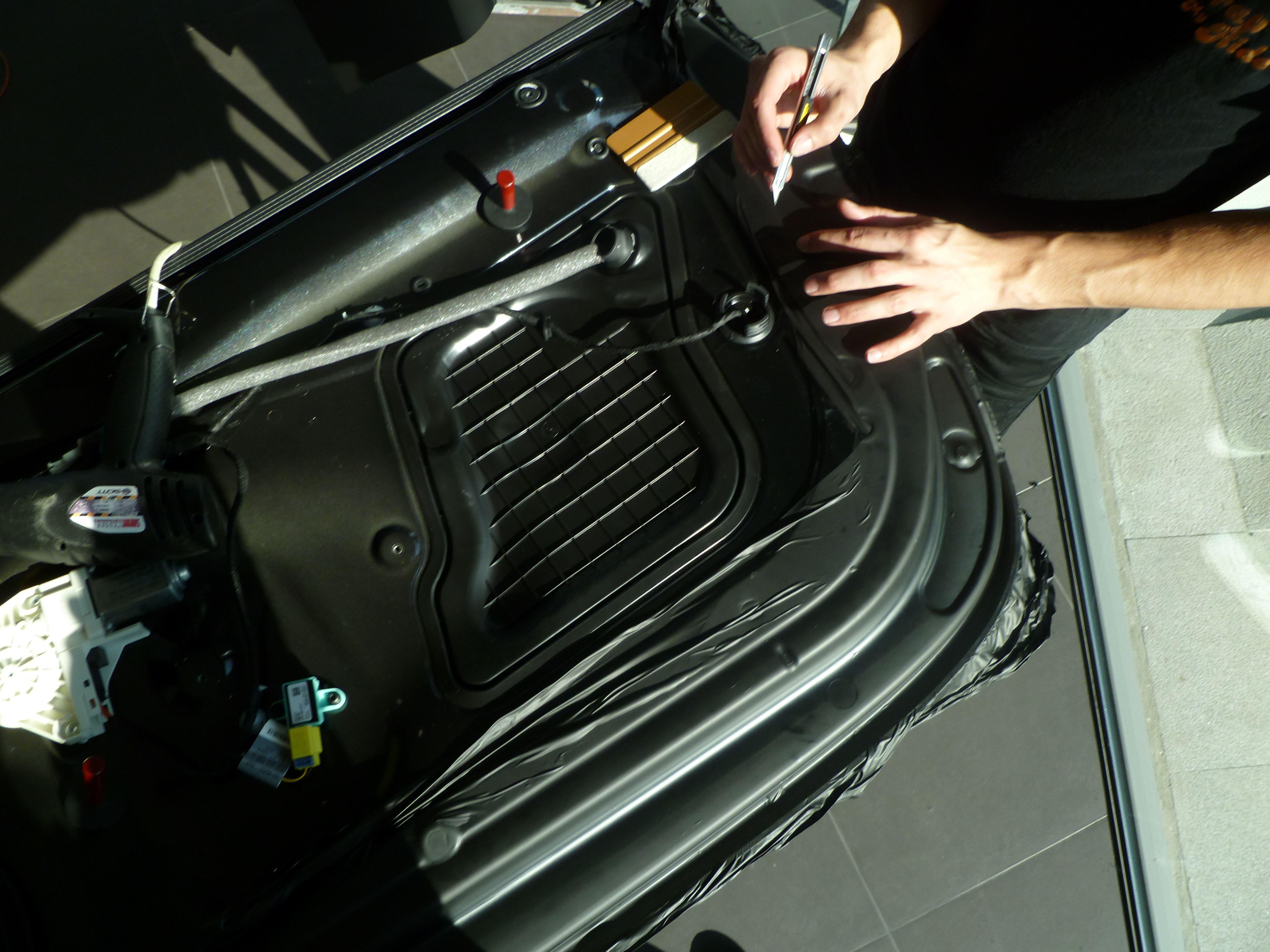 Audi A5 Coupe met Mat Zwarte Wrap, Carwrapping door Wrapmyride.nu Foto-nr:4633, ©2021