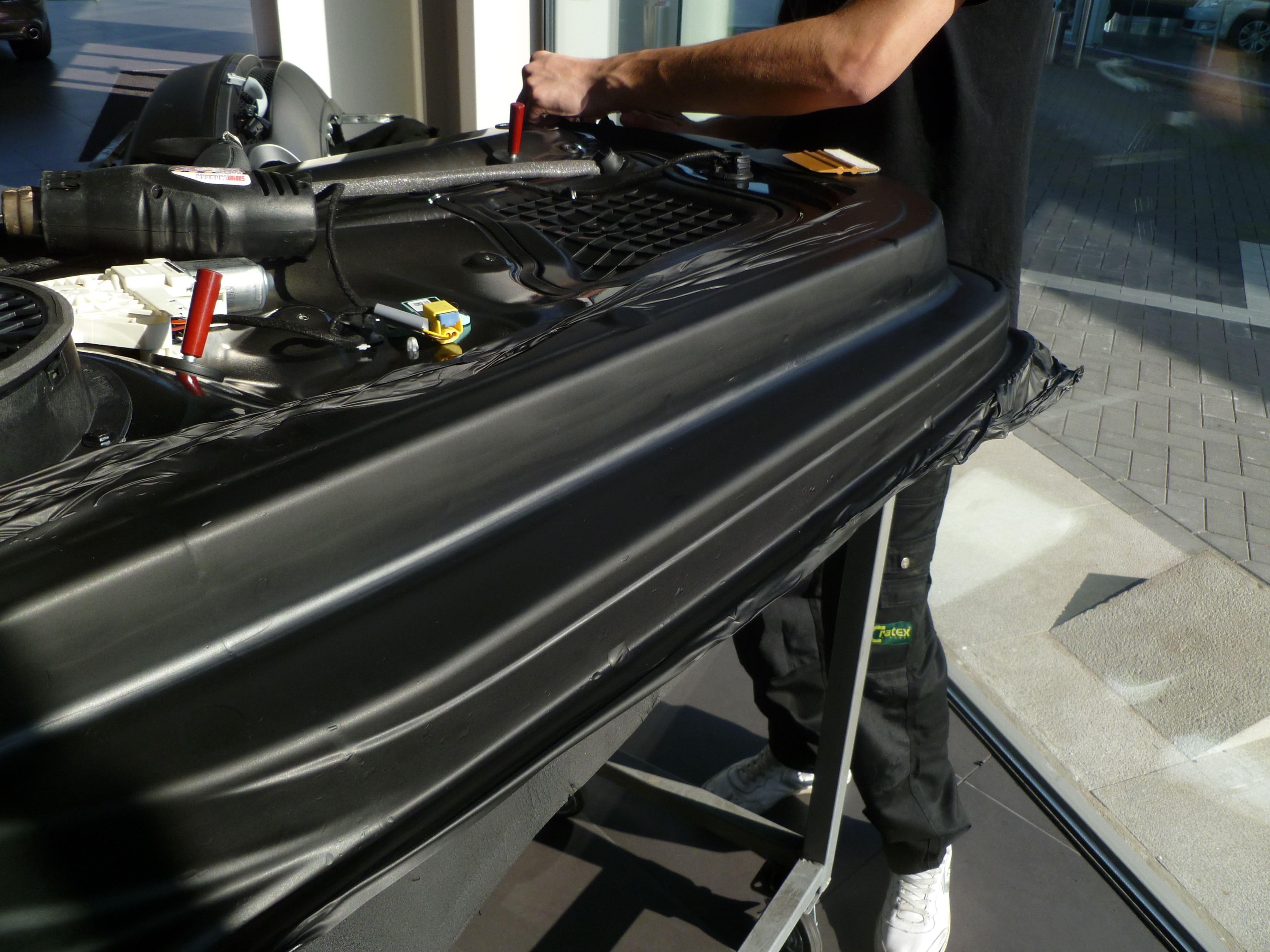 Audi A5 Coupe met Mat Zwarte Wrap, Carwrapping door Wrapmyride.nu Foto-nr:4634, ©2021