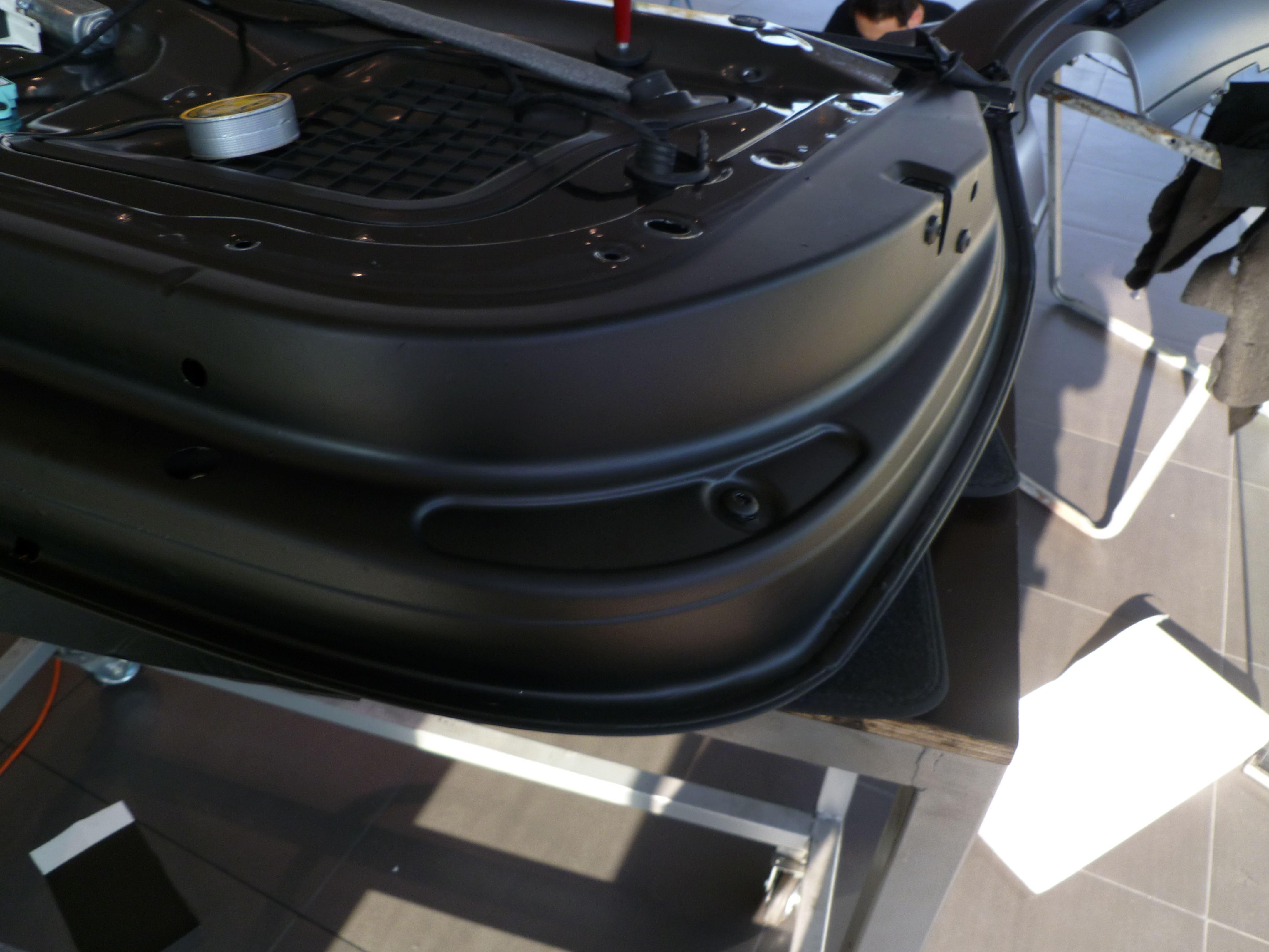 Audi A5 Coupe met Mat Zwarte Wrap, Carwrapping door Wrapmyride.nu Foto-nr:4639, ©2021