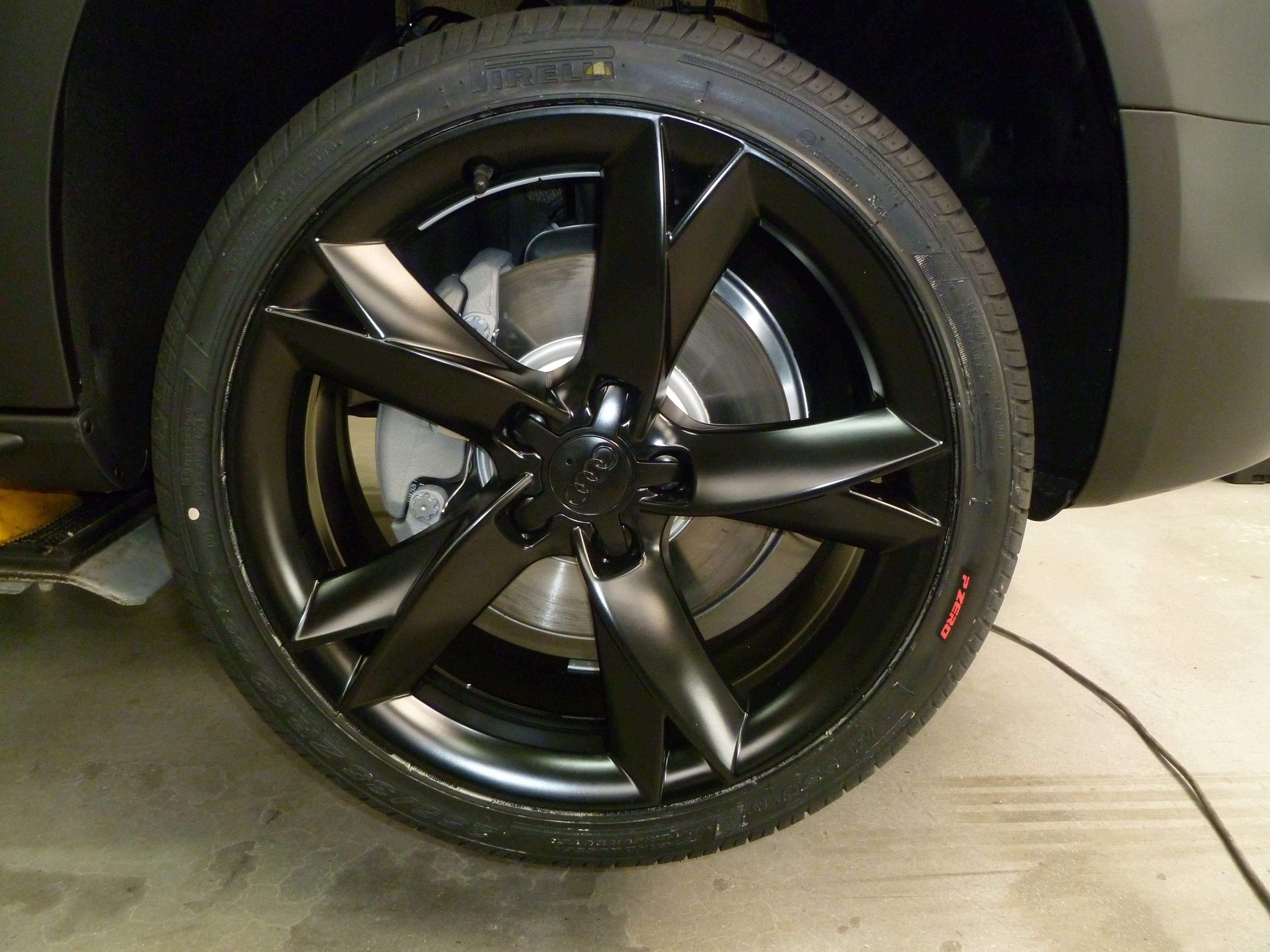 Audi A5 Coupe met Mat Zwarte Wrap, Carwrapping door Wrapmyride.nu Foto-nr:4650, ©2021