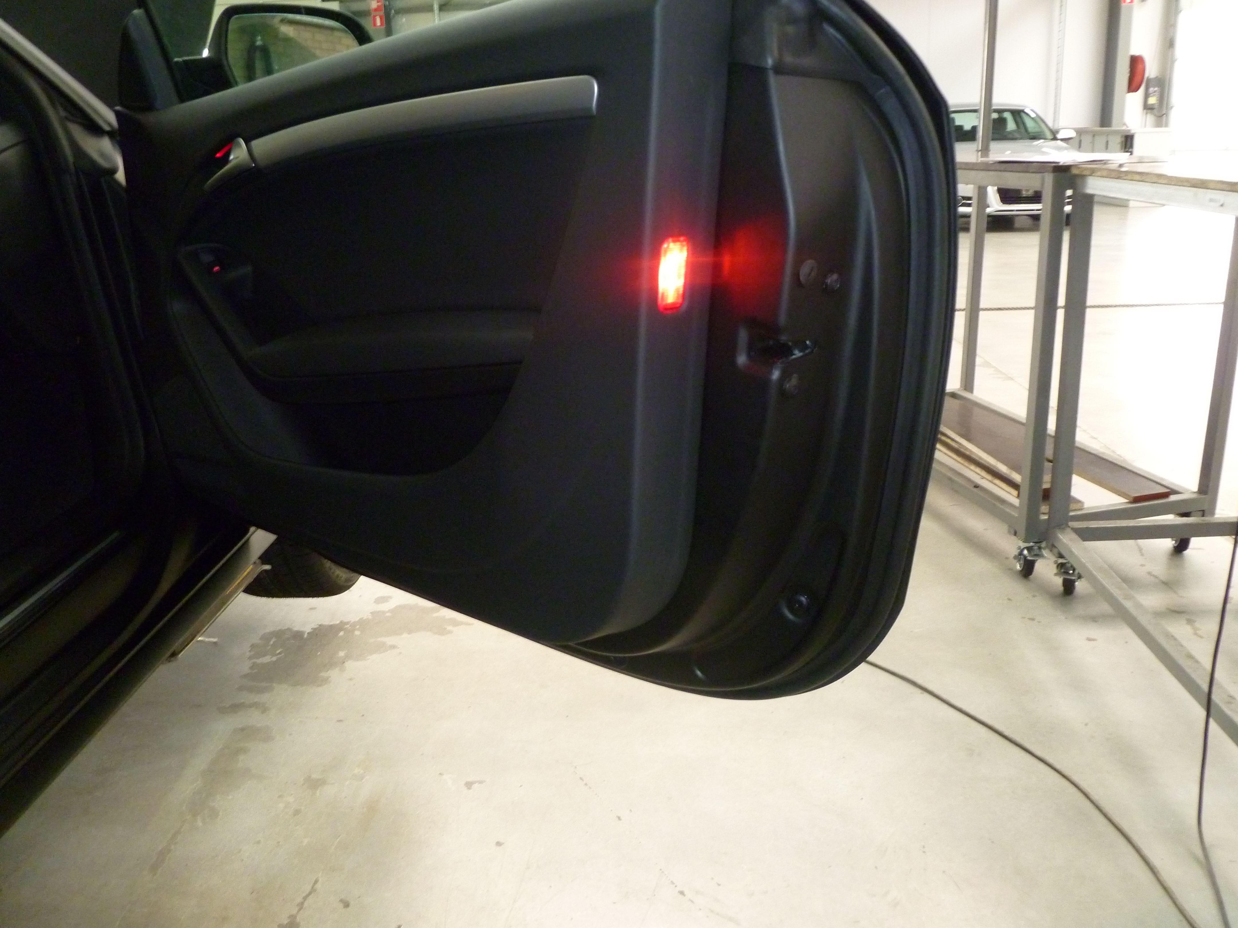 Audi A5 Coupe met Mat Zwarte Wrap, Carwrapping door Wrapmyride.nu Foto-nr:4653, ©2021