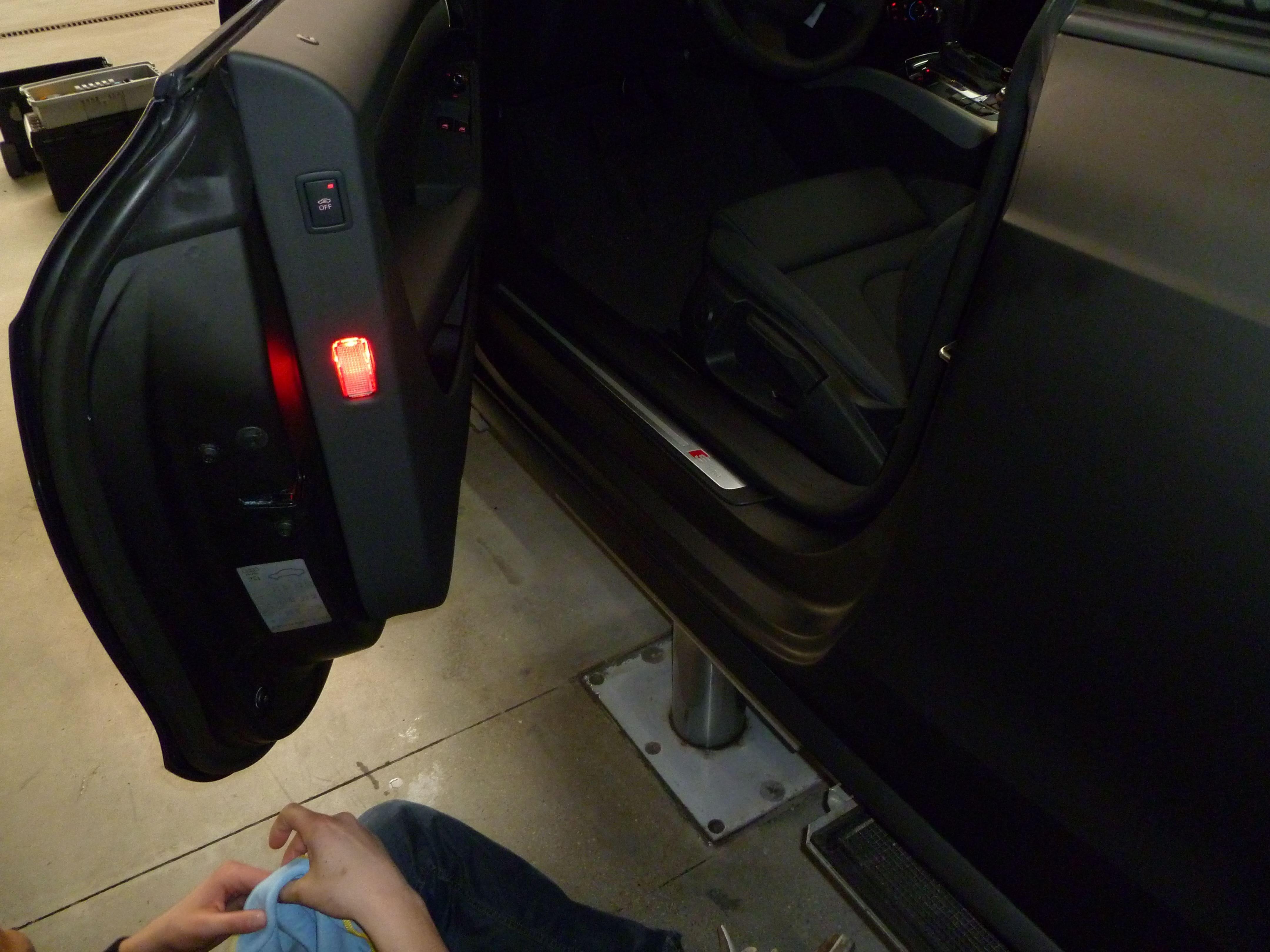 Audi A5 Coupe met Mat Zwarte Wrap, Carwrapping door Wrapmyride.nu Foto-nr:4655, ©2021