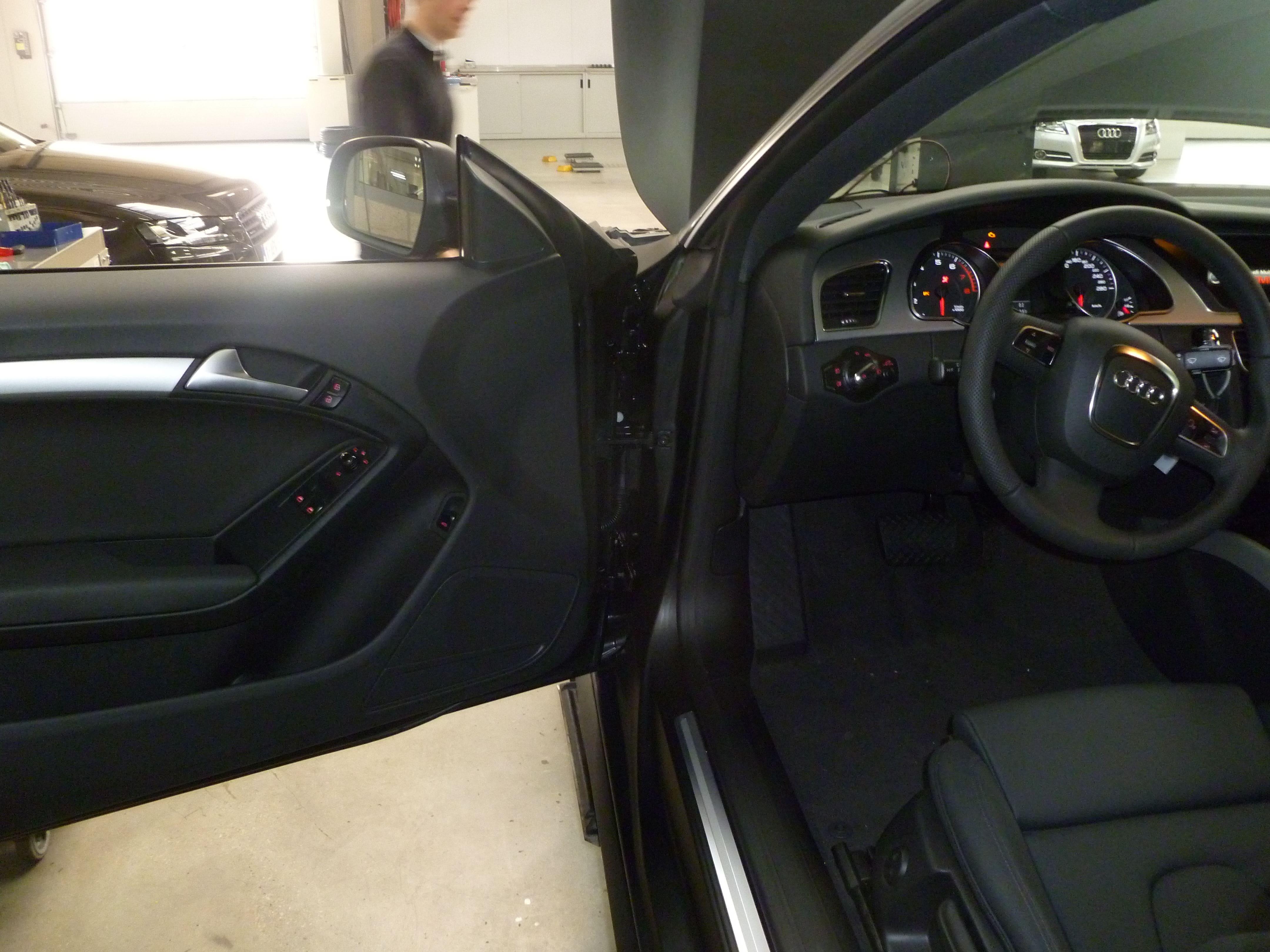 Audi A5 Coupe met Mat Zwarte Wrap, Carwrapping door Wrapmyride.nu Foto-nr:4658, ©2021