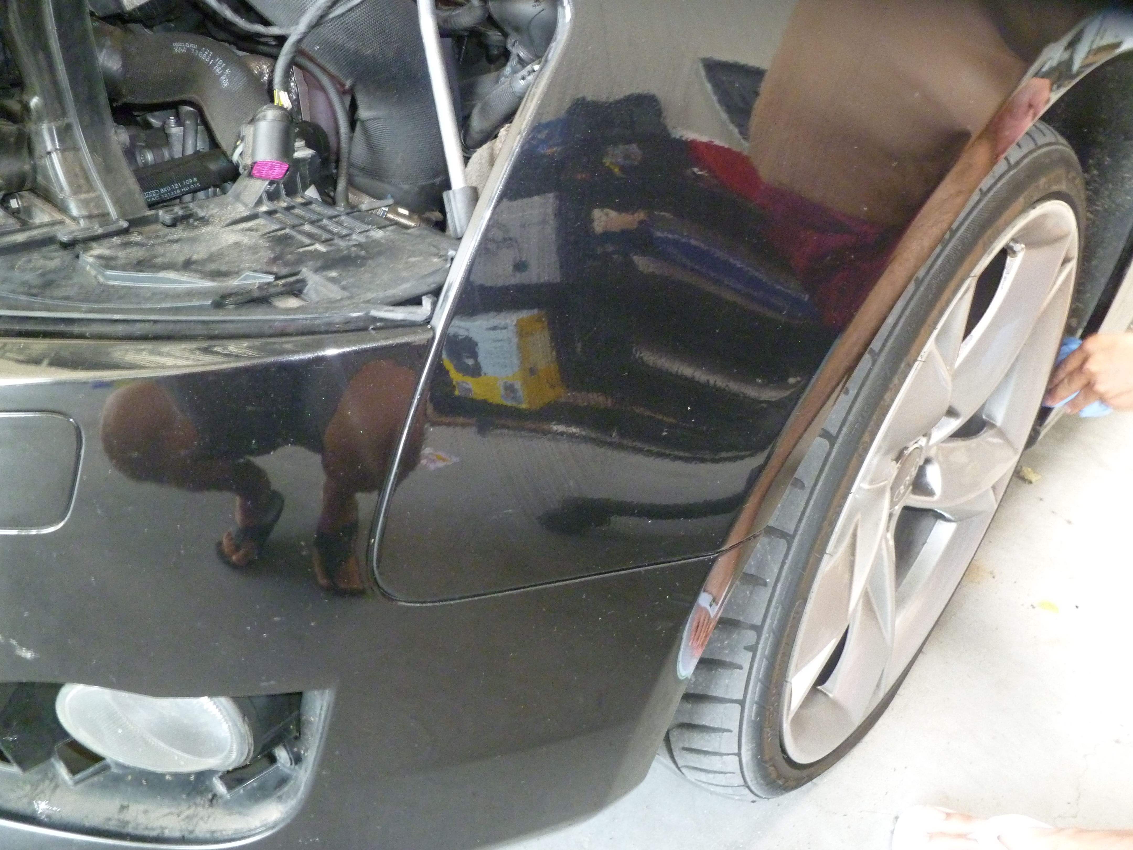 Audi A5 coupe met Metallic Witte Wrap, Carwrapping door Wrapmyride.nu Foto-nr:4680, ©2021