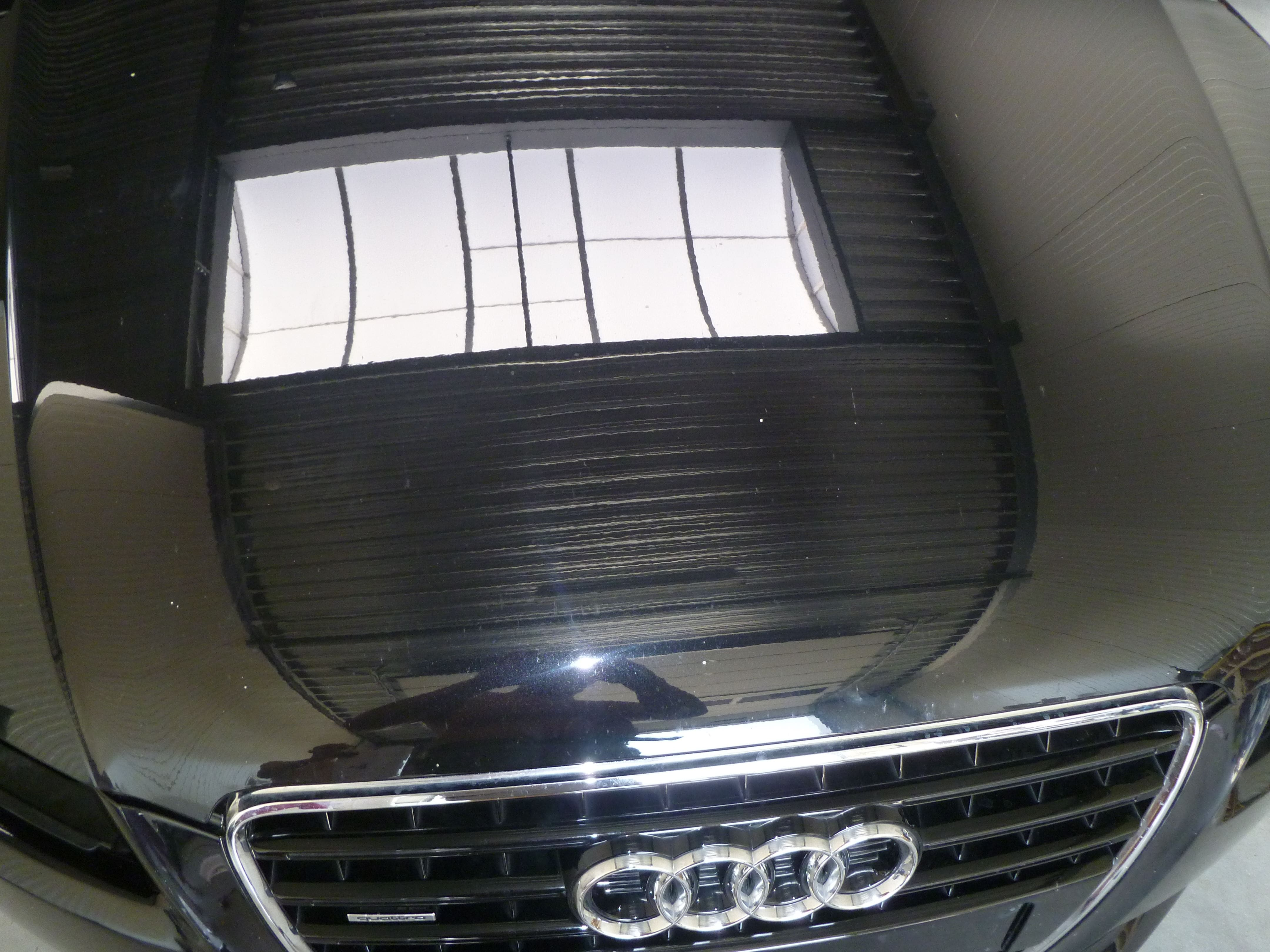 Audi A5 coupe met Metallic Witte Wrap, Carwrapping door Wrapmyride.nu Foto-nr:4696, ©2020