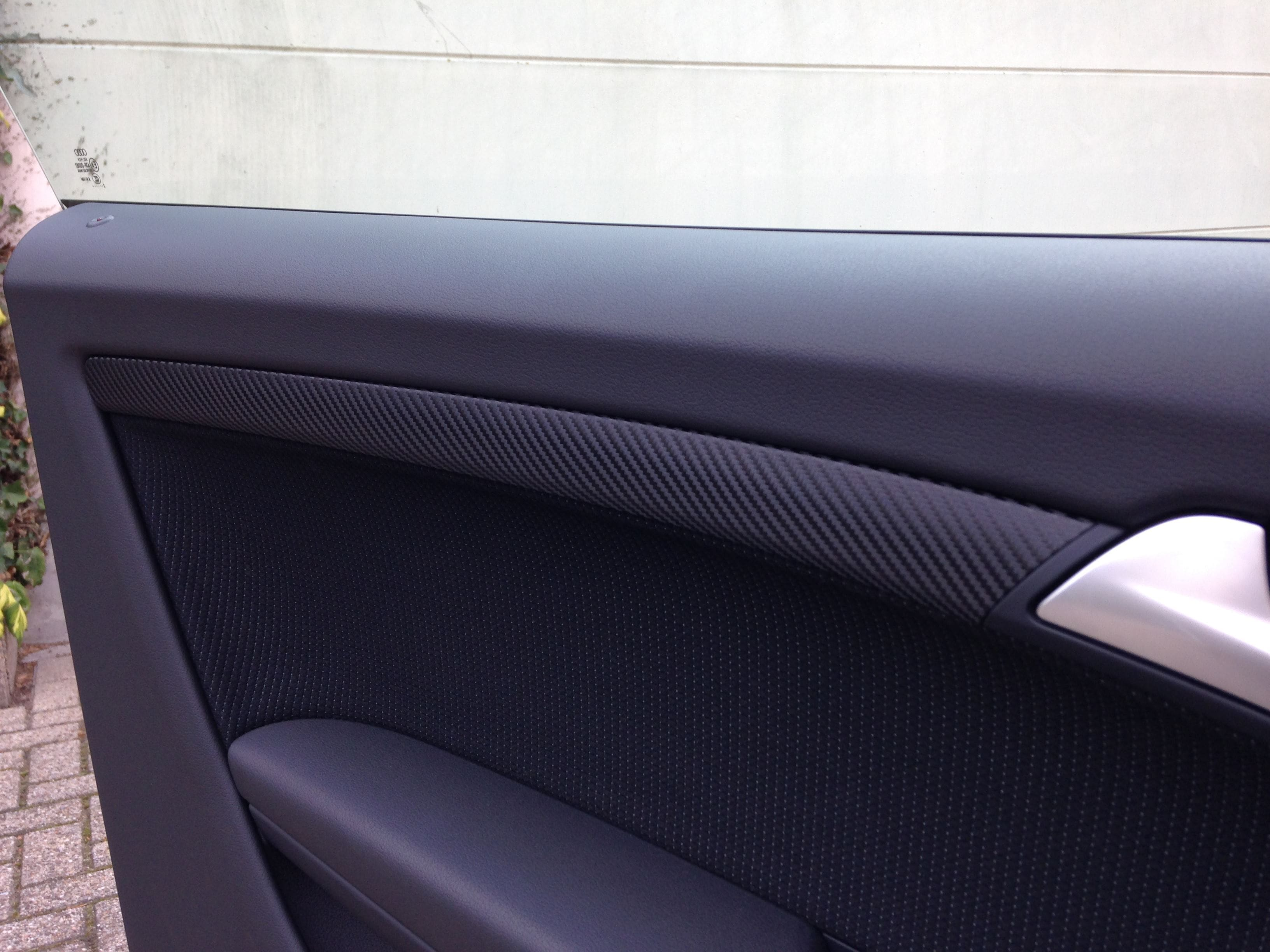Audi A5 met Carbon Wrappings, Carwrapping door Wrapmyride.nu Foto-nr:4538, ©2021