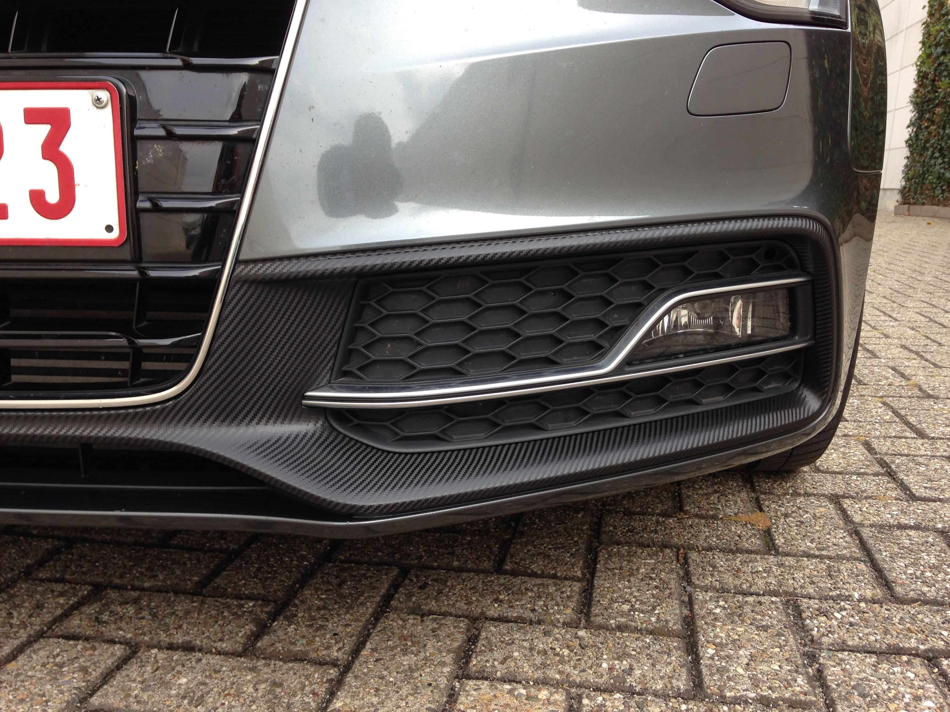 Audi A5 met Carbon Wrappings, Carwrapping door Wrapmyride.nu Foto-nr:4540, ©2021