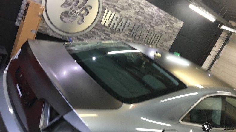 Audi A5 Satin Dark Grey, Carwrapping door Wrapmyride.nu Foto-nr:10808, ©2020