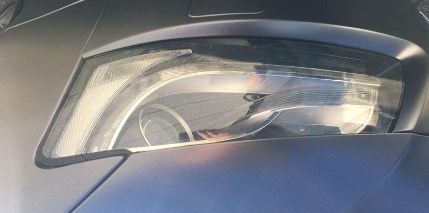 Audi A5 Satin Dark Grey