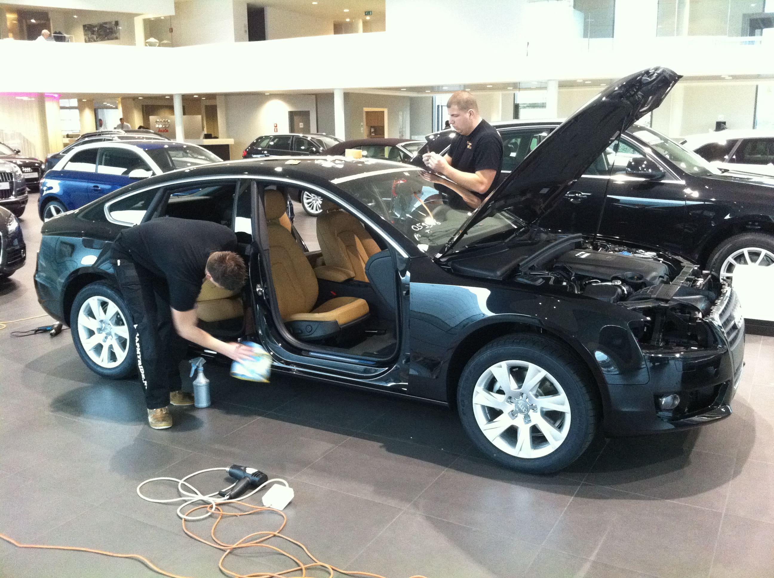Audi A5 Sportback met Mat Grijze Wrap, Carwrapping door Wrapmyride.nu Foto-nr:4756, ©2021