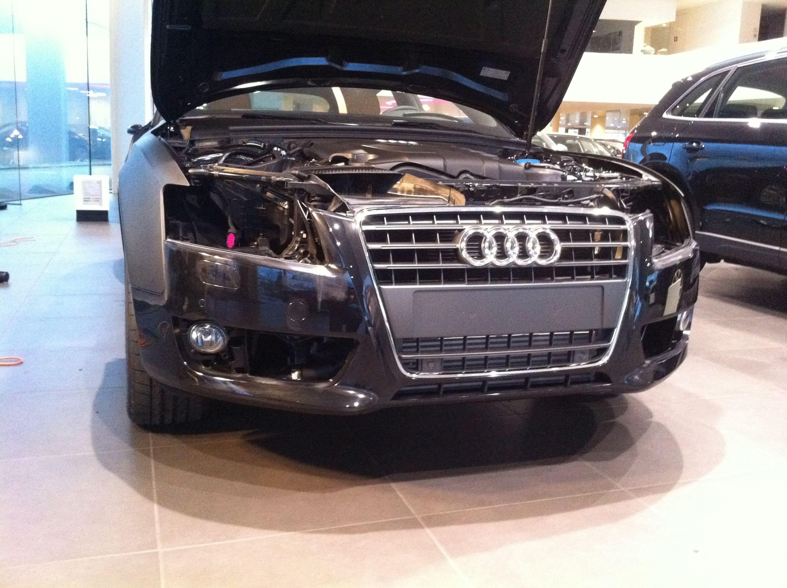 Audi A5 Sportback met Mat Grijze Wrap, Carwrapping door Wrapmyride.nu Foto-nr:4767, ©2021