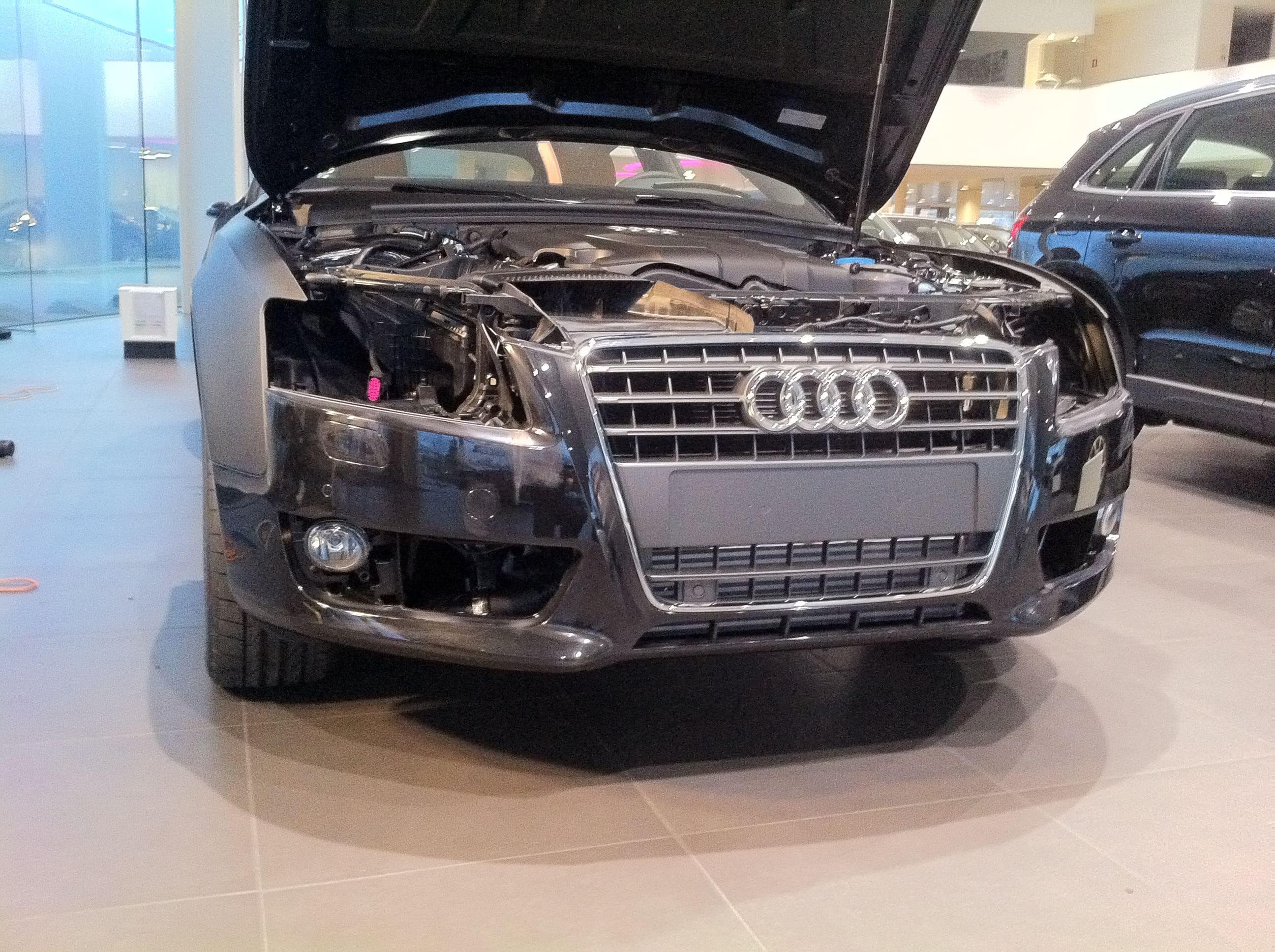 Audi A5 Sportback met Mat Grijze Wrap, Carwrapping door Wrapmyride.nu Foto-nr:4768, ©2021