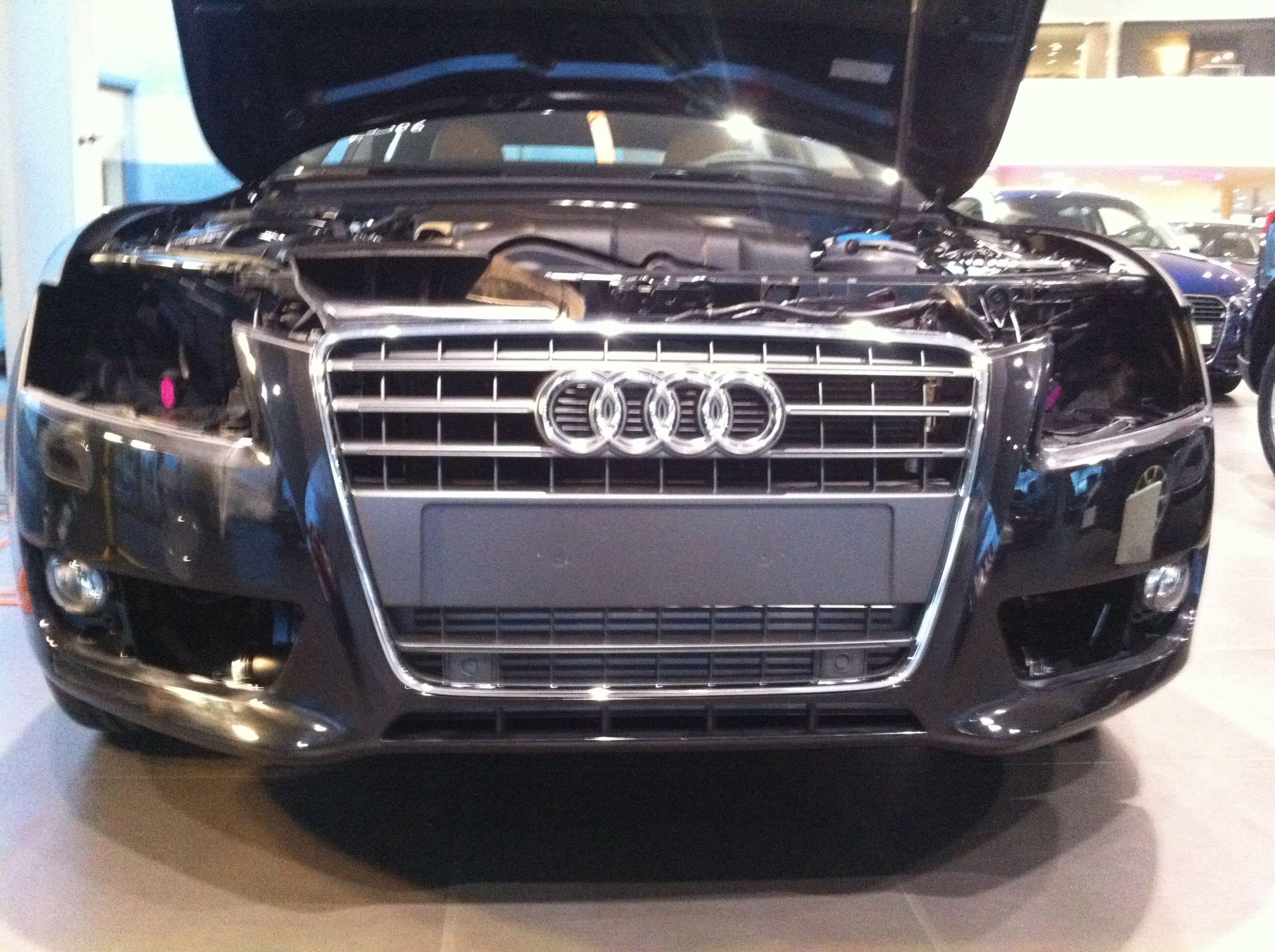 Audi A5 Sportback met Mat Grijze Wrap, Carwrapping door Wrapmyride.nu Foto-nr:4769, ©2021