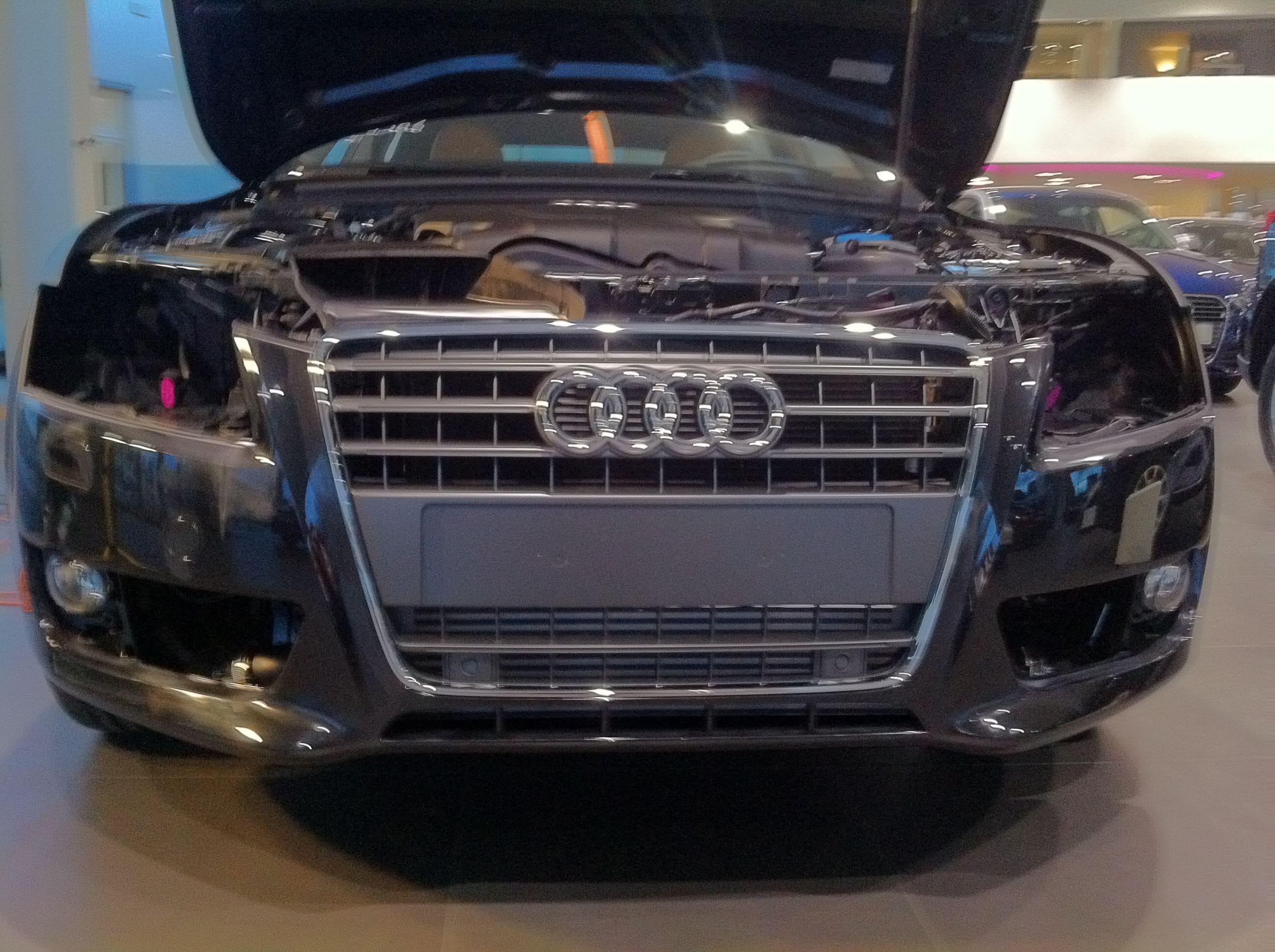Audi A5 Sportback met Mat Grijze Wrap, Carwrapping door Wrapmyride.nu Foto-nr:4770, ©2021