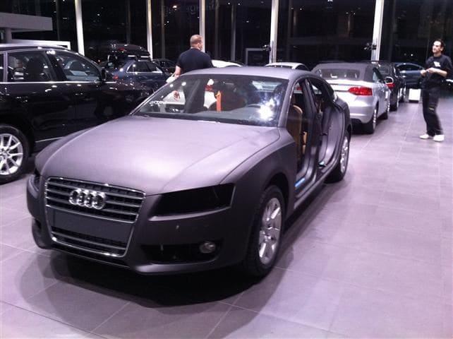 Audi A5 Sportback met Mat Grijze Wrap, Carwrapping door Wrapmyride.nu Foto-nr:4798, ©2021