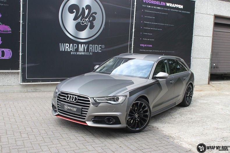 Audi A6 Jon Olson Camo wrap, Carwrapping door Wrapmyride.nu Foto-nr:11777, ©2019
