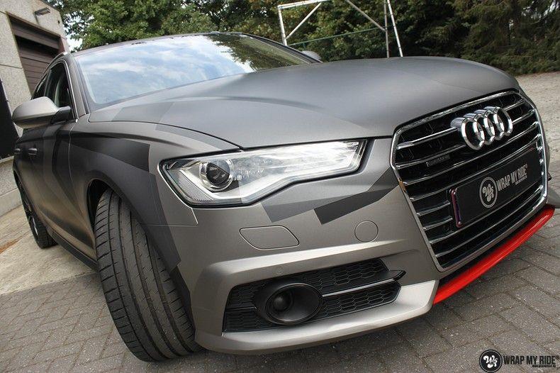 Audi A6 Jon Olson Camo wrap, Carwrapping door Wrapmyride.nu Foto-nr:11764, ©2019