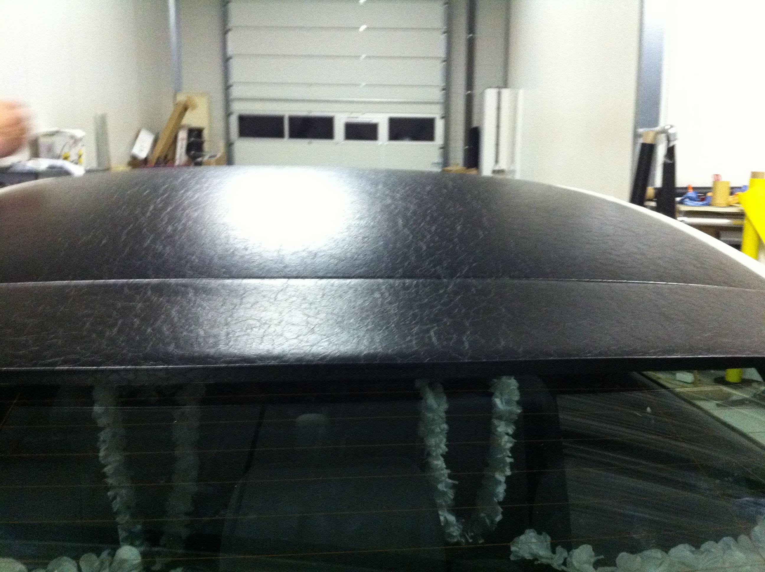 Audi A6 met zwart lederen dak, Carwrapping door Wrapmyride.nu Foto-nr:7475, ©2021