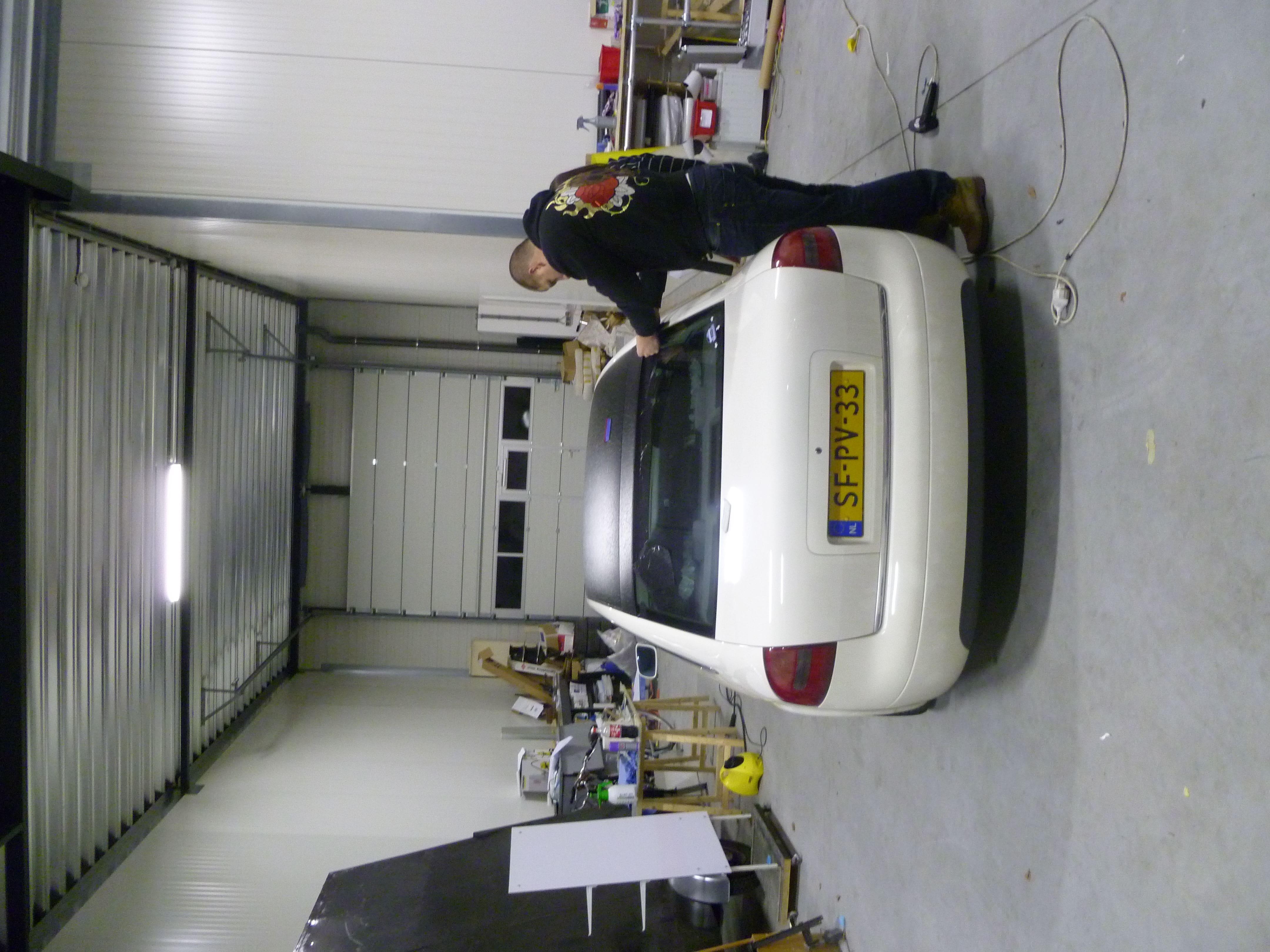 Audi A6 met zwart lederen dak, Carwrapping door Wrapmyride.nu Foto-nr:7497, ©2021