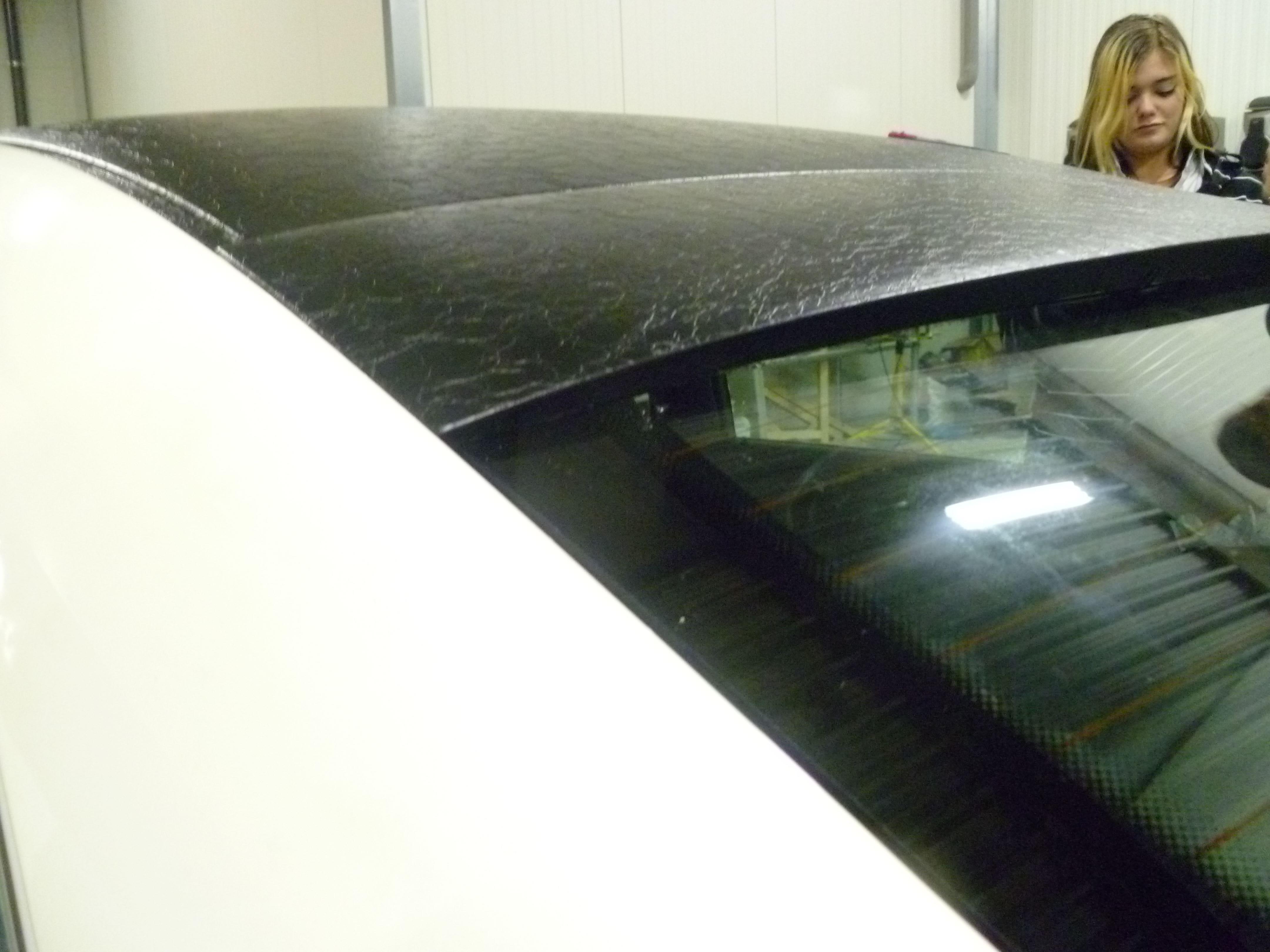 Audi A6 met zwart lederen dak, Carwrapping door Wrapmyride.nu Foto-nr:7499, ©2021