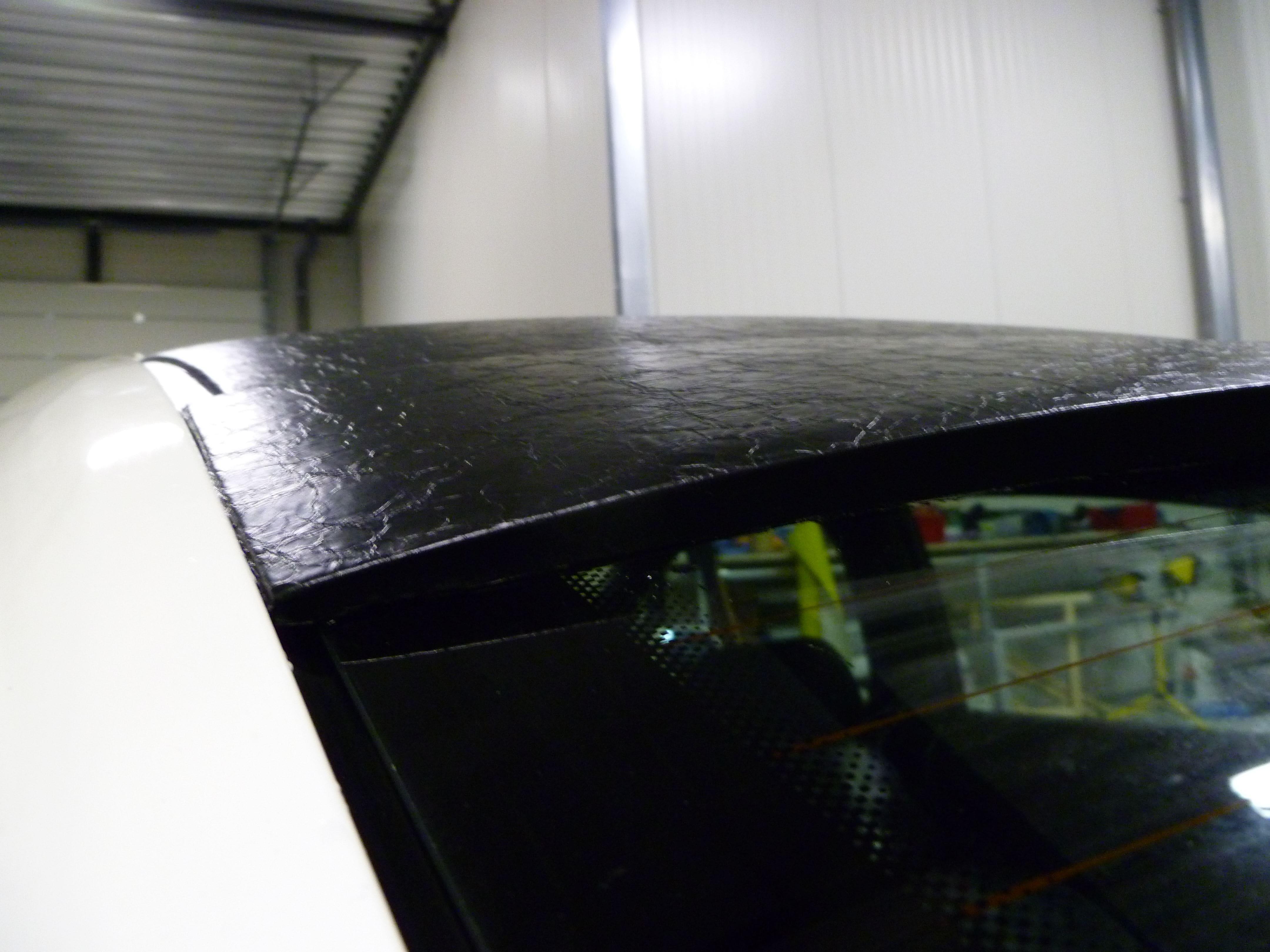Audi A6 met zwart lederen dak, Carwrapping door Wrapmyride.nu Foto-nr:7500, ©2021