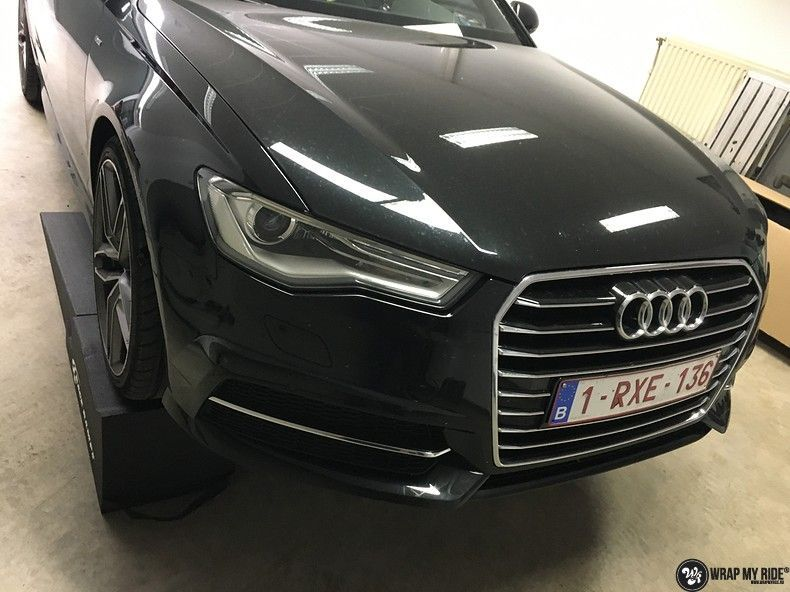 Audi A6 ontchromen, Carwrapping door Wrapmyride.nu Foto-nr:11342, ©2020