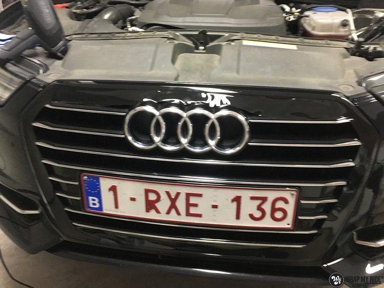 Audi A6 ontchromen, Carwrapping door Wrapmyride.nu Foto-nr:11339, ©2020