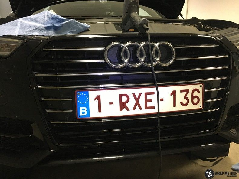 Audi A6 ontchromen, Carwrapping door Wrapmyride.nu Foto-nr:11337, ©2021