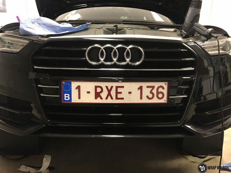 Audi A6 ontchromen, Carwrapping door Wrapmyride.nu Foto-nr:11335, ©2020