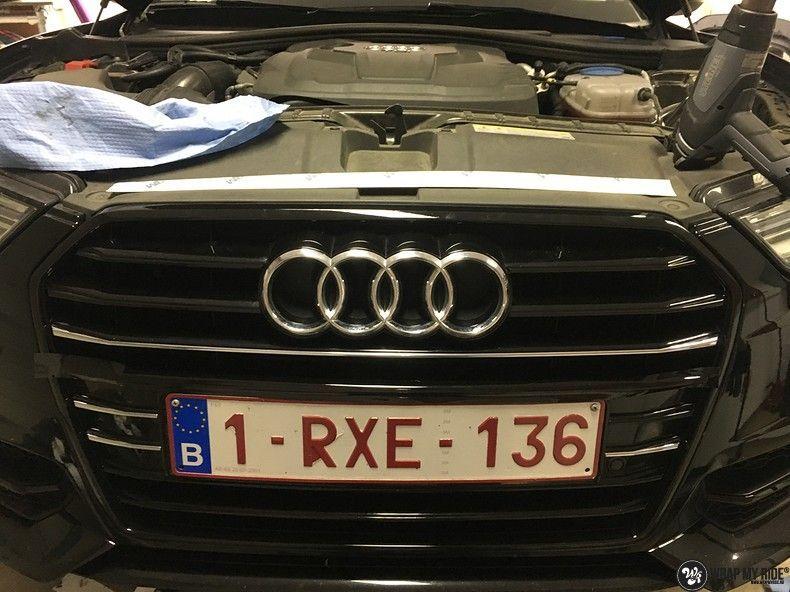 Audi A6 ontchromen, Carwrapping door Wrapmyride.nu Foto-nr:11334, ©2020