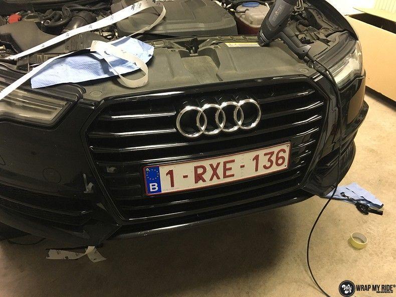 Audi A6 ontchromen, Carwrapping door Wrapmyride.nu Foto-nr:11333, ©2021