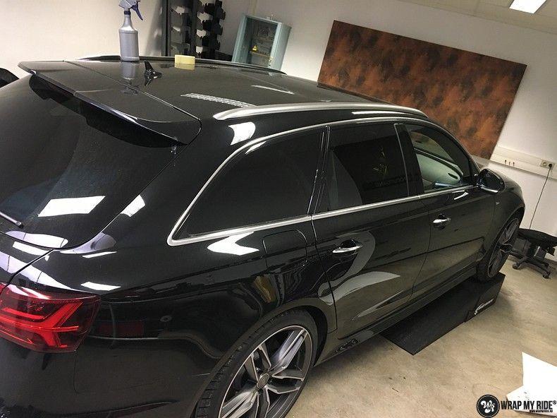 Audi A6 ontchromen, Carwrapping door Wrapmyride.nu Foto-nr:11329, ©2020