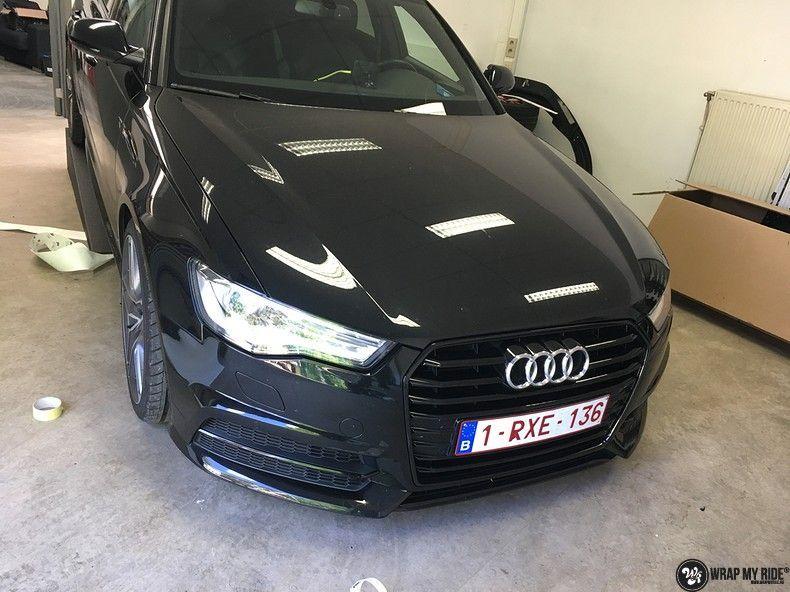 Audi A6 ontchromen, Carwrapping door Wrapmyride.nu Foto-nr:11332, ©2020